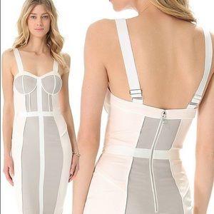 Rebecca Minkoff Pastel Bustier Dress